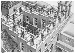 Escher, Penrose Stairs